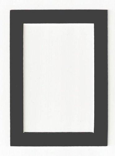 Charcoal - Dark Gray Acid Free Picture Frame Mat, 8x10 - $ 537.00 en ...