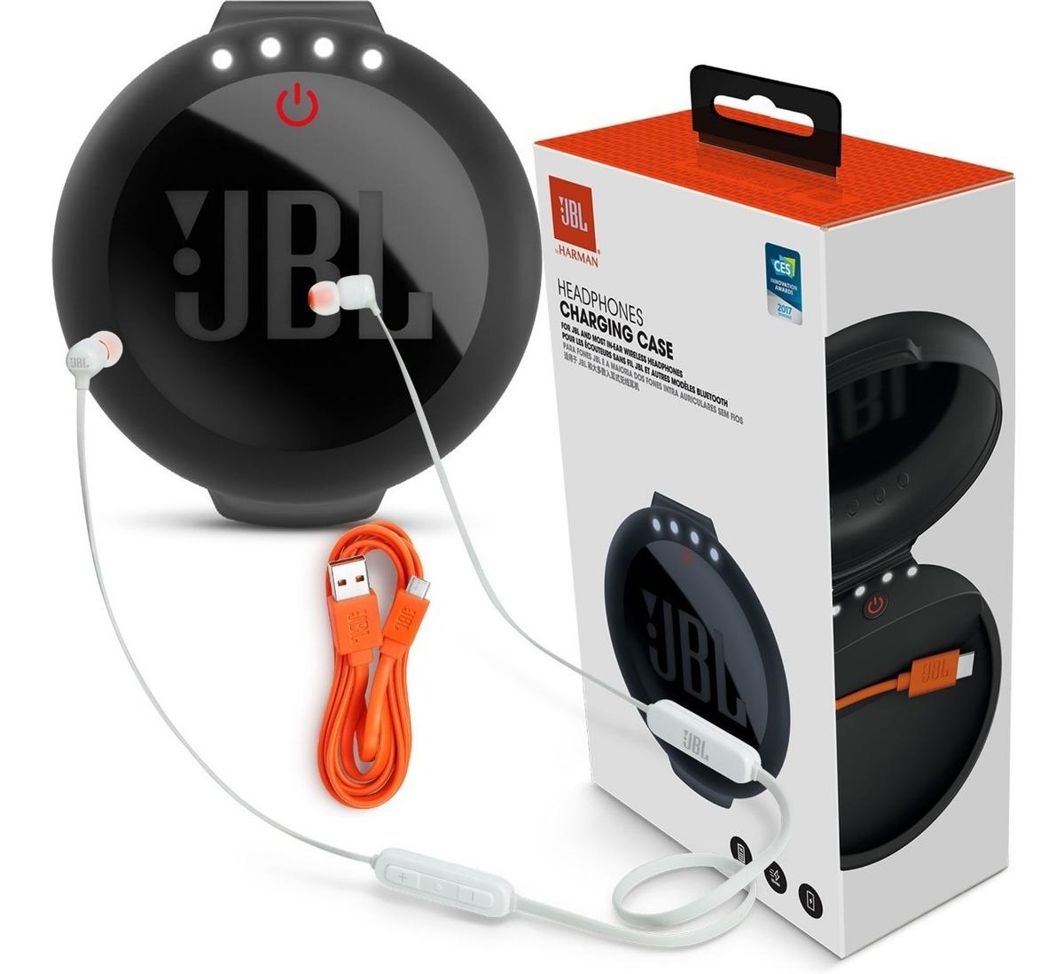 Charging Case Jbl + Fone Jbl T110bt Bluethooth Original + Nf