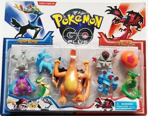 charizard grande + 8 pokemons go x y pronta entrega