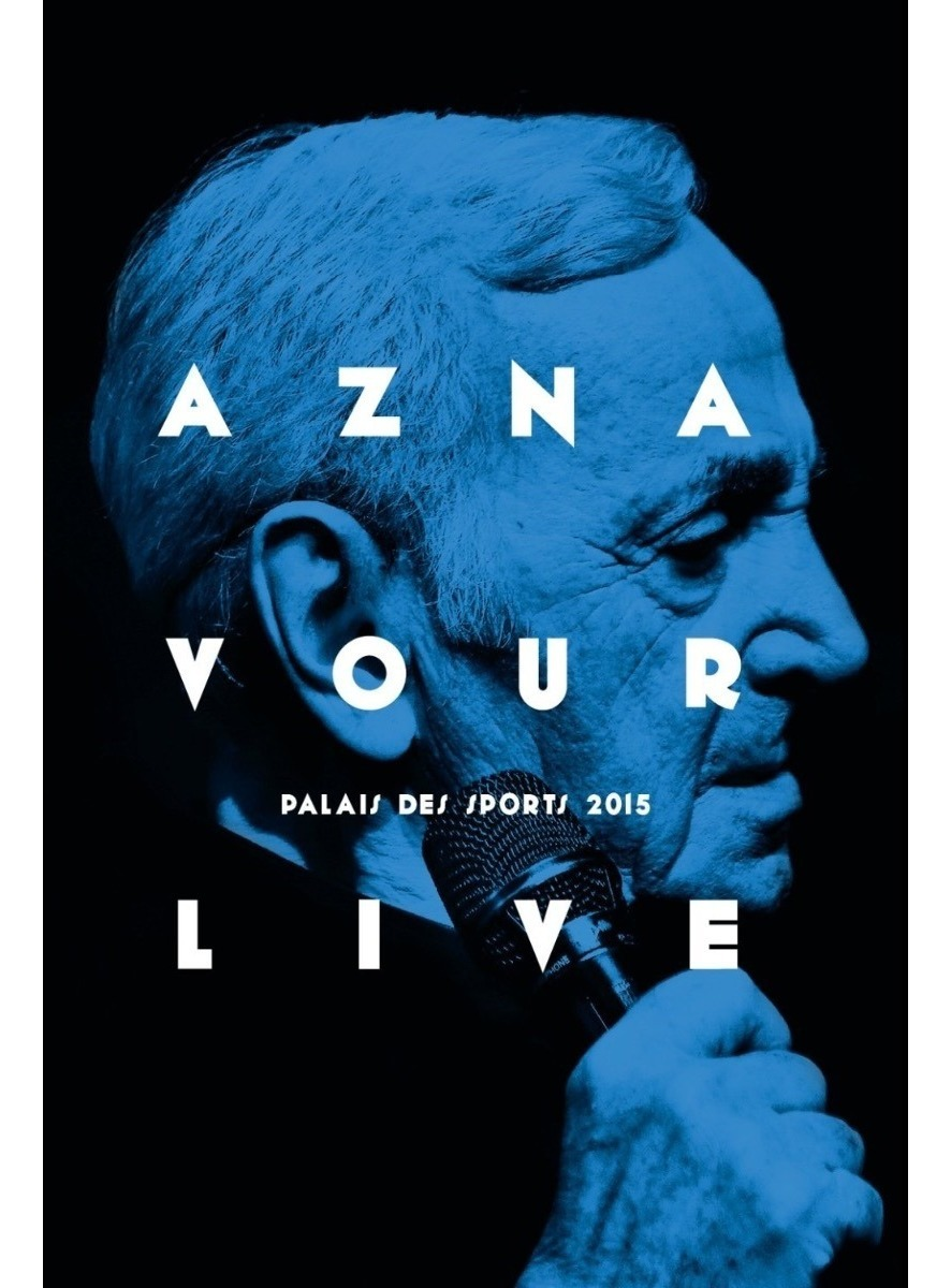 Charles Aznavour - Live At Palais Des Sports 2015 - Blu Ray