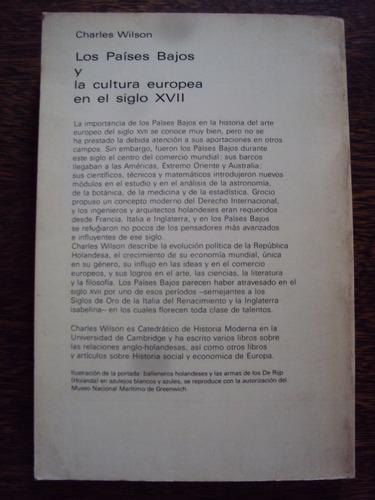 charles wilson los paises bajos y la cultura europea s xvii