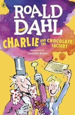 charlie  and the chocolate factory - roald dahl - puffin