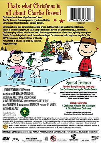 Charlie Brown Christmas 50th.Charlie Brown Christmas 50th Anniversary A Deluxe Edition