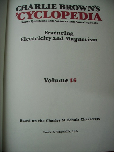 charlie brown's cyclopedia - 15 tomos - completa - ingles
