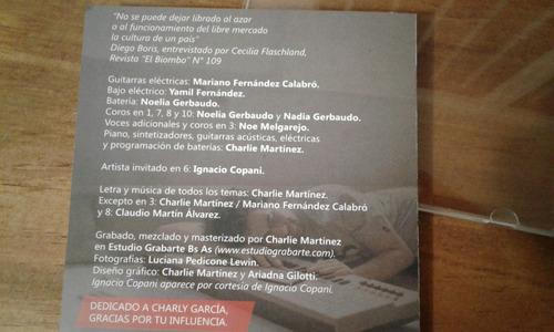 charlie martinez cooltura cd original nuevo encelofanado