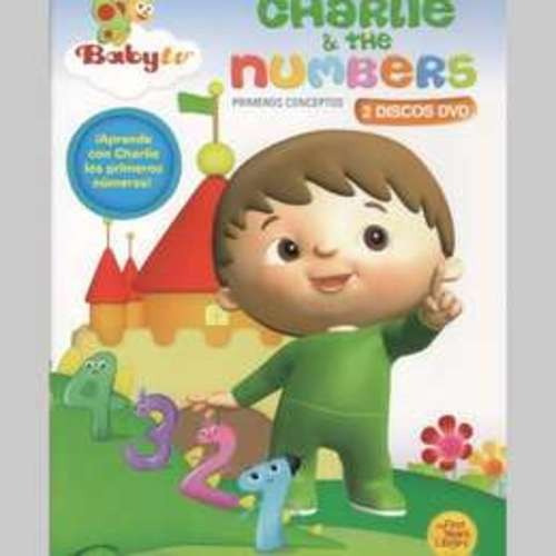 charlie & the numbers baby tv dvd nuevo