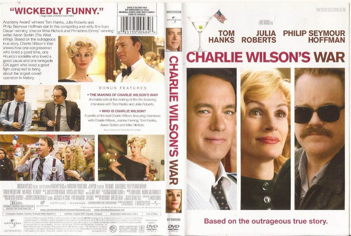 Charlie Wilsons War Dvd Tom Hanks Julia Roberts Cargando Zoom
