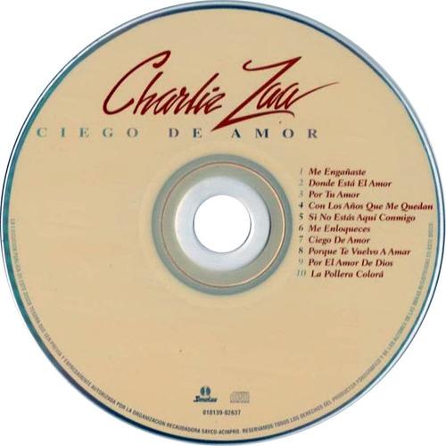 charlie zaa   ciego de amor     cd nuevo y sellado