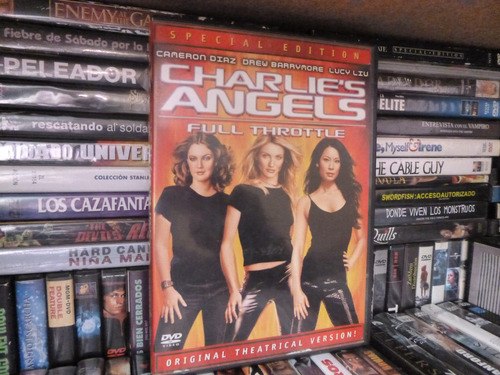 charlies angels dvd pelicula idioma ingles