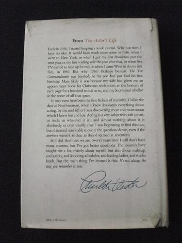 charlton heston - journals  biography