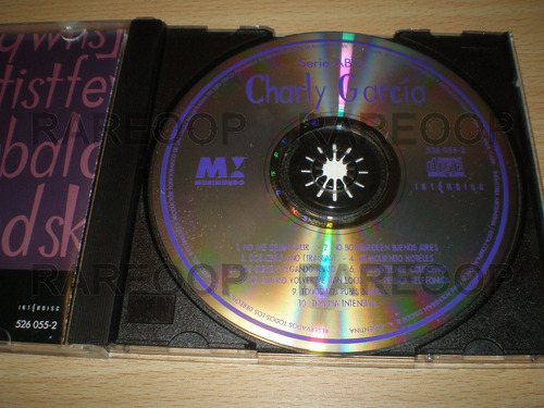 charly garcia serie abc musimundo (cd) (arg) consultar stock