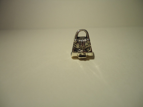 charm / berloque bolsa  prata lei 925