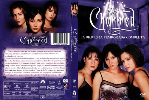 charmed 1º temporada dvds originais estojo digiback