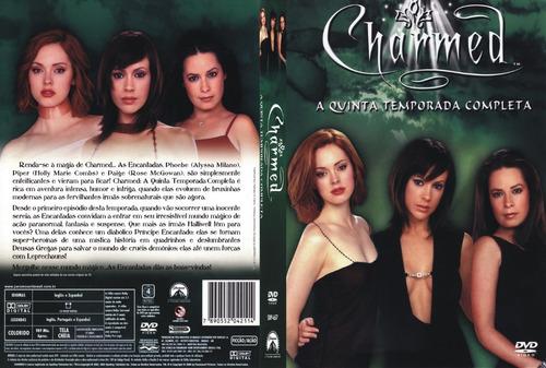charmed 5º temporadas box original novo