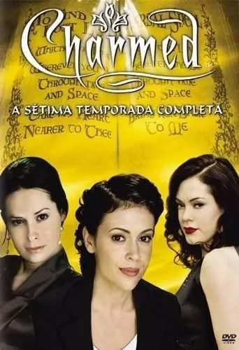 charmed 7 temporada completa box 6 dvds original lacrado