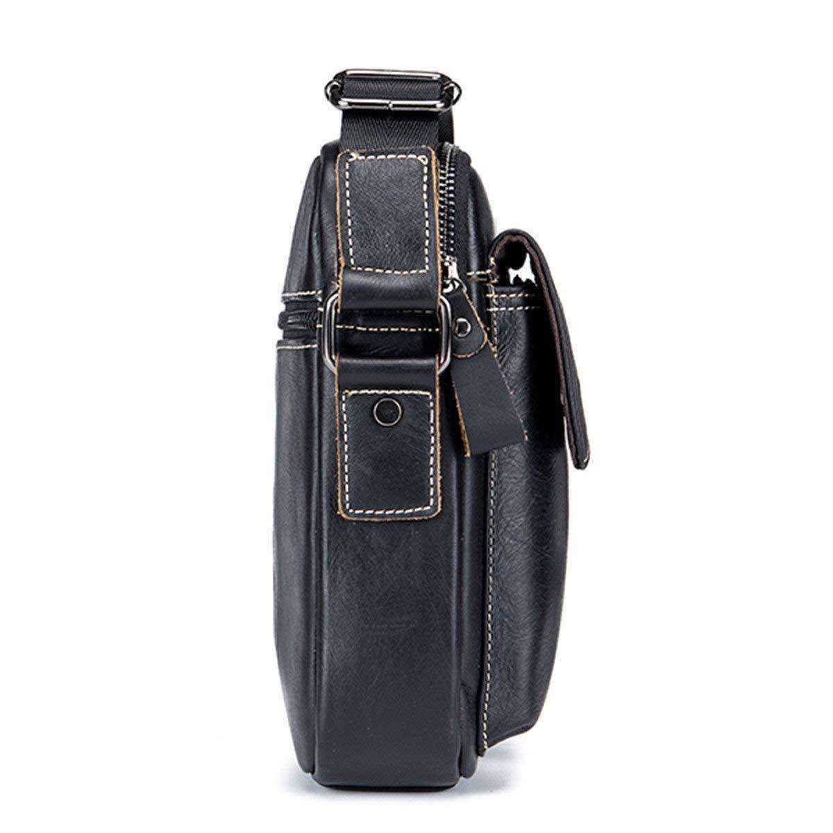 ac3c7ba835c charminer men s small shoulder bag, genuine leather bag, ret. Cargando zoom.