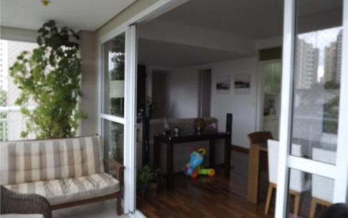 charmoso apartamento com belíssima varanda gourmet,  à venda, panamby, são paulo - ap1628.