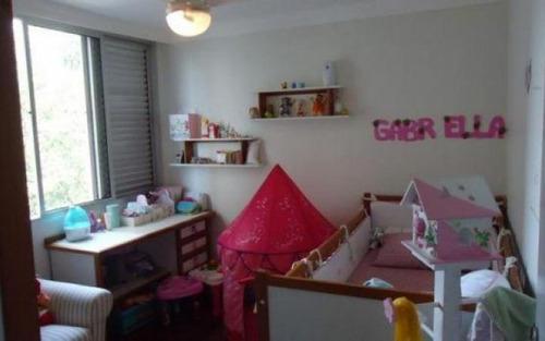 charmoso apartamento em condominio fechado, com ampla varanda, 3 dormitórios ,sendo 1 suite, à venda, morumbi, são paulo.