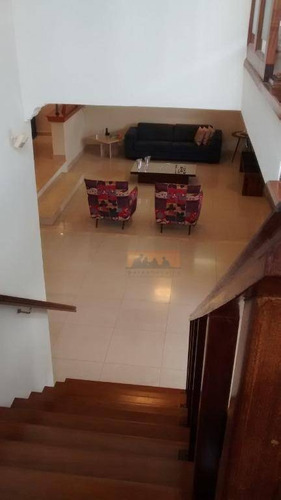 charmoso sobrado com 5 dormitórios à venda, 484 m² por r$ 950.000 - cidade universitária - campinas/sp - ca1631