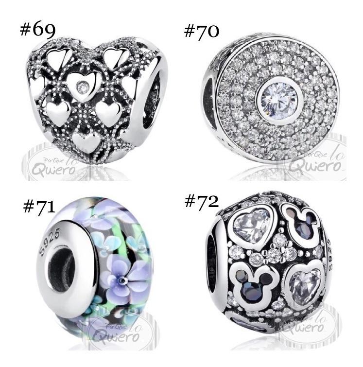 9ee77dbf23d8 Charms 100% Plata Máxima Calidad Compatible Pandora Modelos