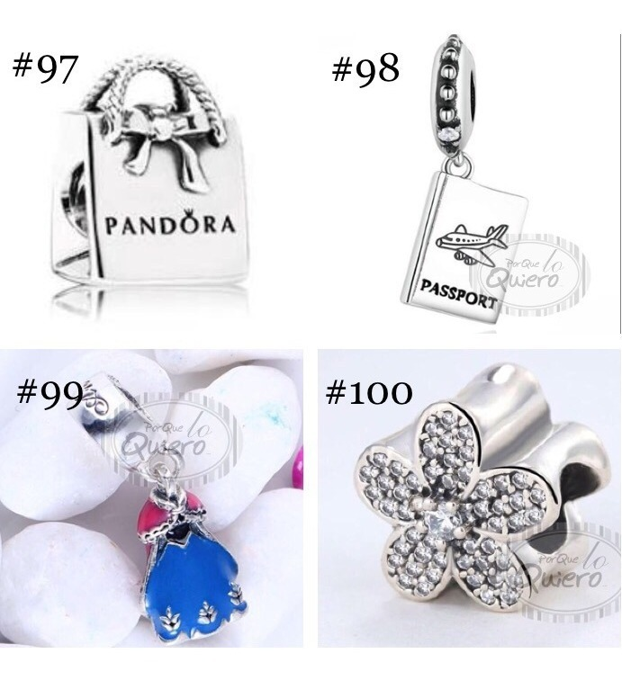 d08c5eae661d Charms 100% Plata Máxima Calidad Compatible Pulsera Pandora