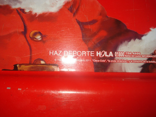 charola coca cola edicion navidad 2011 rectangular