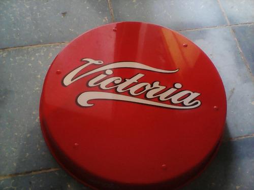 charola de cerveza victoria de 33 cm diámetro para coleccion