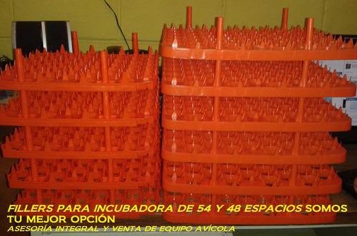 charola de incubadora 48  o 54 huecos