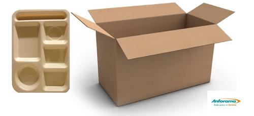 charola de plástico 6 divisiones beige 6 pzs, incluye envío
