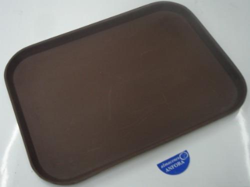 charola fibra de vidrio charola c/antiderrapante 30 x 40