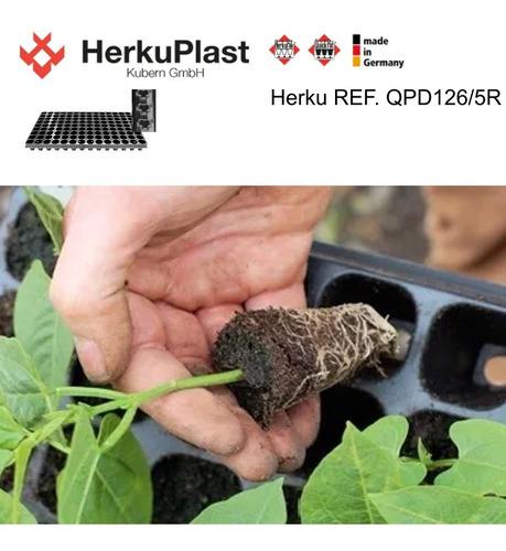 charola germinación, semillero 126 cavidades 9x14 larga vida