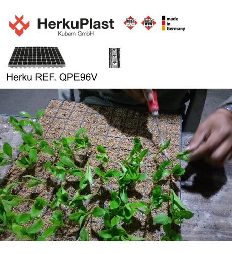 charola germinación, semillero 96 cavidades 8x12 _larga vida