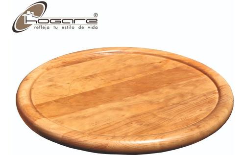 charola giratoria de madera de 48 cm decorativa hogare