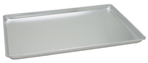 charola panadera aluminio 40 x 60