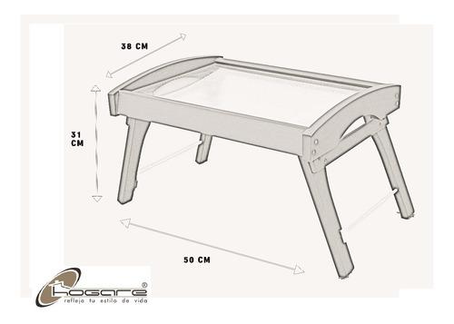 charola para cama de madera practica y moderna hogare