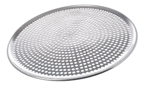 charola perforada para pizza  45 cm 2 piezas