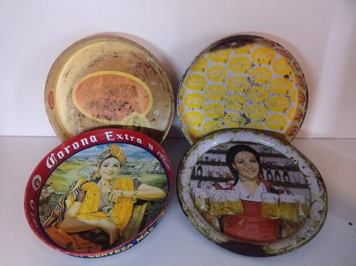 charolas antiguas coleccion corona cartablanca