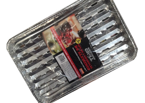 charolas de aluminio para asar cocinar hornear 5 piezas
