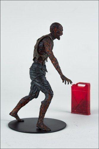 charred zombie - the walking dead - mcfarlane