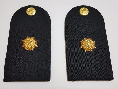 charreteras oficial subayudante jerarquias par + atributos