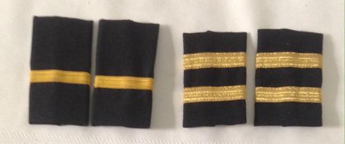 charreteras uniforme pilotos viasa colección (1-2)