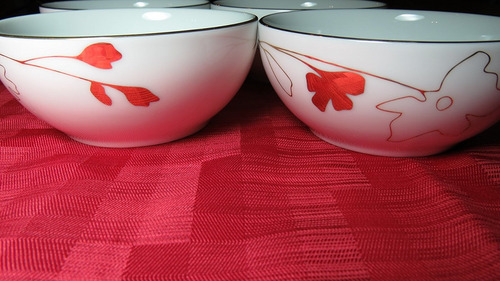 Charter Club Grand Buffet Gold Silhouette Berry Bowls Set Of ...