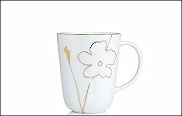 Charter Club Home Grand Buffet Gold Silhouette Mugs, Set Of ...