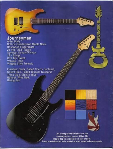 charvel modelo a 2002