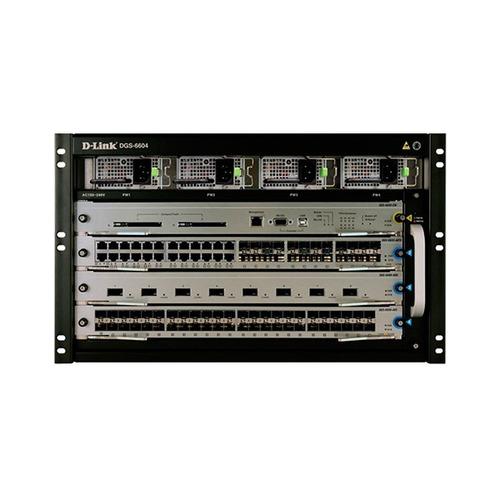 chasis base para switch d-link dgs-6600, 4 slot, 6.3u.