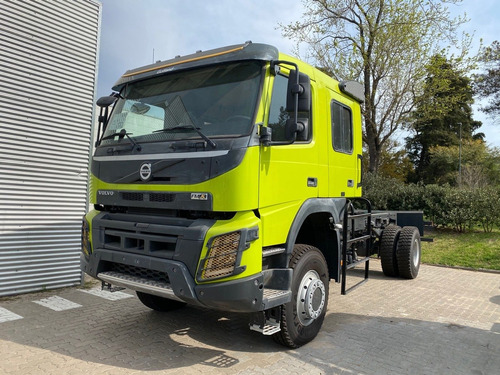 chasis camion volvo fmx 500 doble cabina para motorhome 4x4