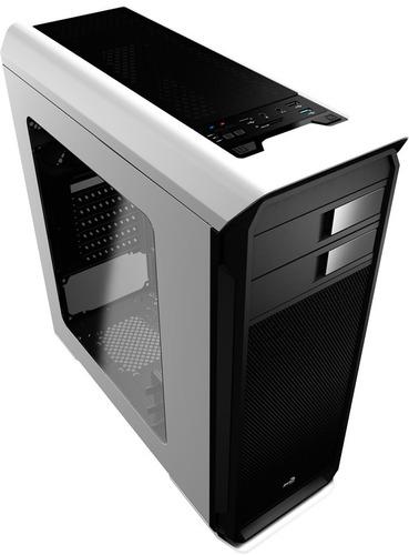 chasis / case / torre aerocool aero 500 color blanco