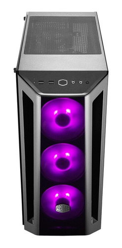 chasis / case / torre cooler master mb520 rgb vt + 3fan rgb