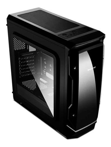 chasis / case / torre gamer segotep halo + 8 ventiladores