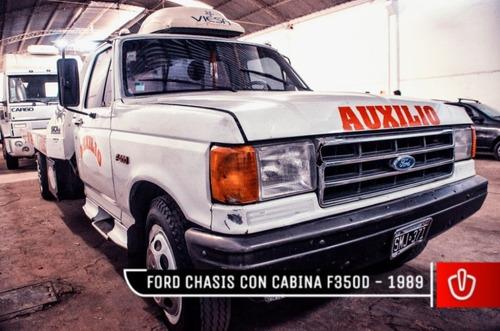 chasis con cabina f350d